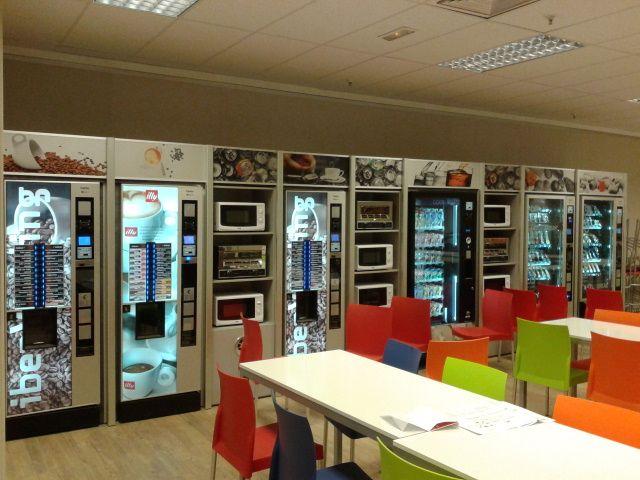 Bidagin mobiliario vending for Mobiliario empresas